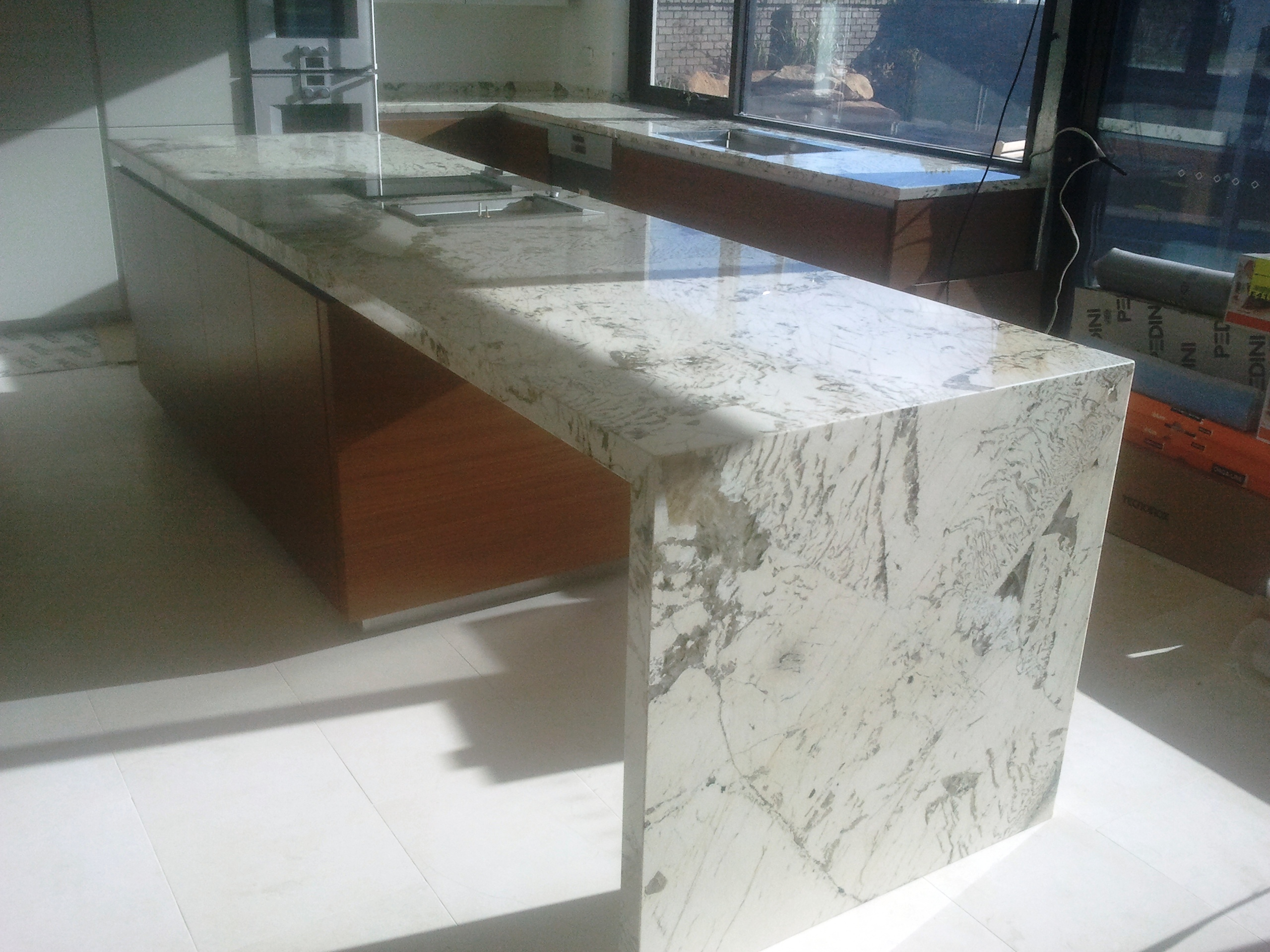 Granite amp Stone Benchtops Perth Marble Dining Tables : WATERFALLLEG from www.gcsmith.com.au size 2560 x 1920 jpeg 1403kB