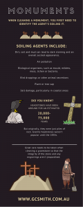 how to clean a gravestone